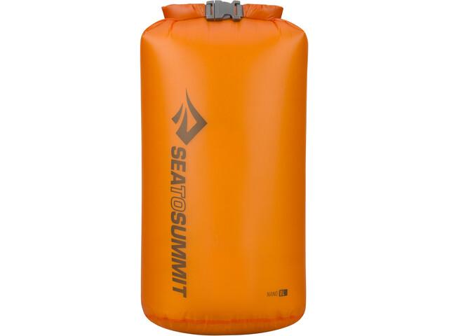 Sea to Summit Ultra-Sil Nano Borsa impermeabile 8l, arancione